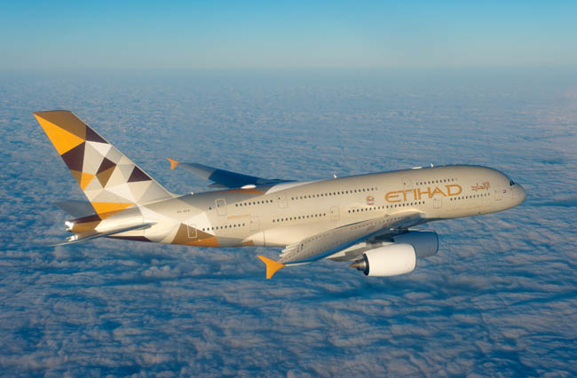 Etihad, Hindistan'da Jet Aisways ile büyüyor