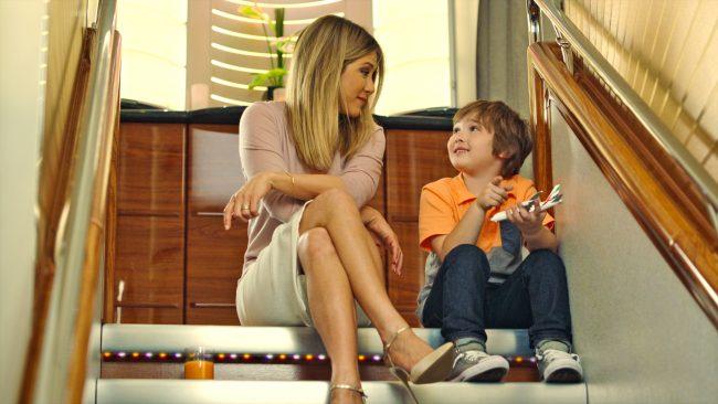 Golden Globe ve Emmy ödüllü oyuncu, Jennefer Aniston'ın Emirates'te yeni bir arkadası var