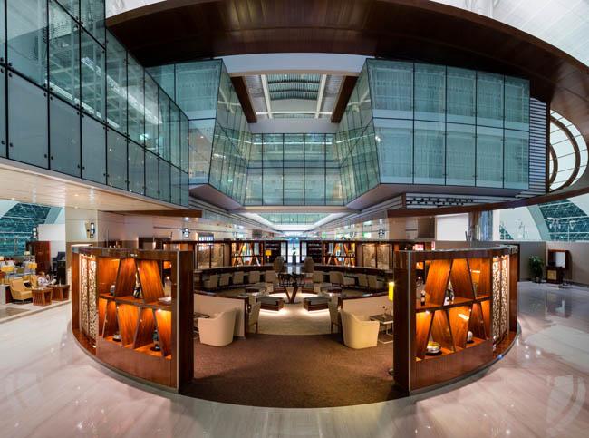 Emirates, Dubai'deki Business Class Salonu'nu yeniledi