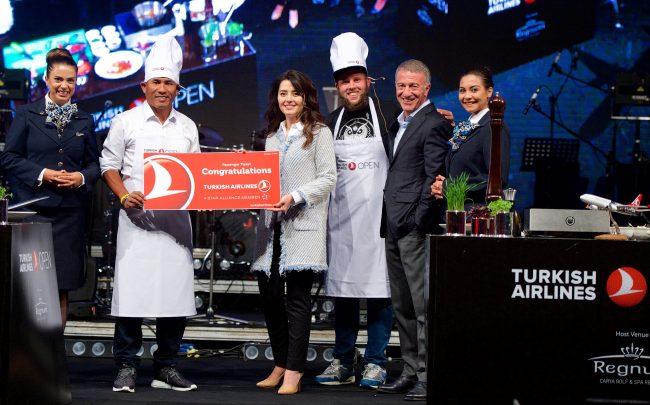 Turkish Airlines Open 2016'da Türk yemekleri de yer aldı