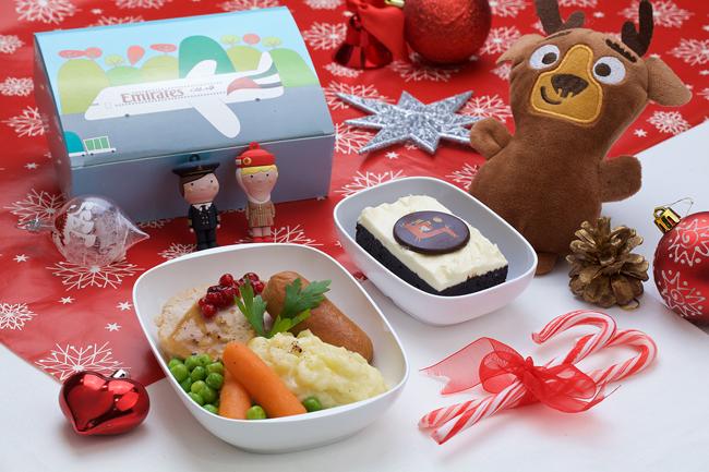Emirates, yılbaşı özel yemek menülerini hazırladı