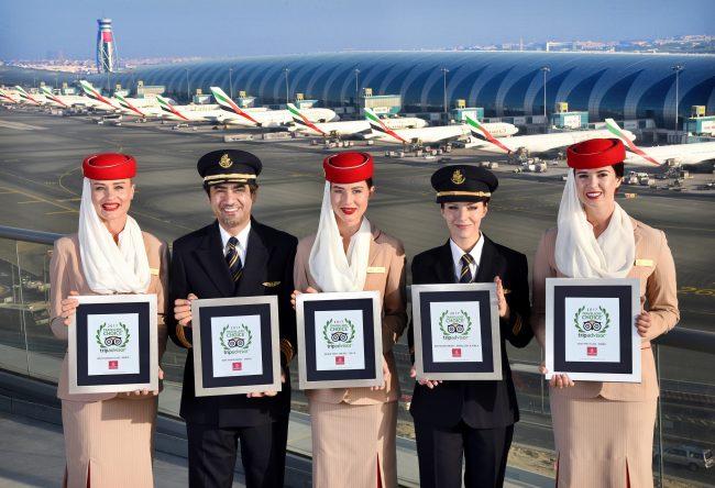 Emirates, Dünyanın en iyi havayolu seçildi