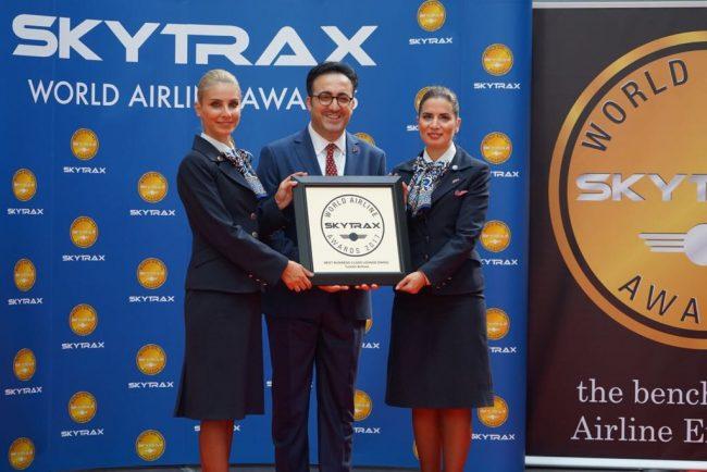 Güney Avrupa'nın en iyi havayolu şirketi yine THY oldu