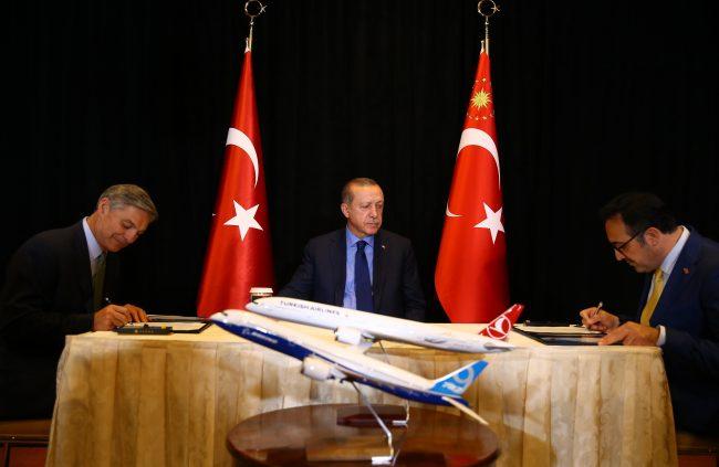 THY, 40 adet 787-9 Dreamliner için Boeing ile görüşmeye başladı