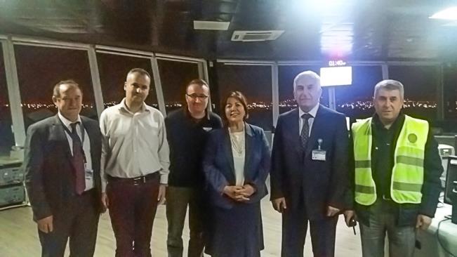 DHMİ Patronu Ocak Antalya'yı ziyaret etti