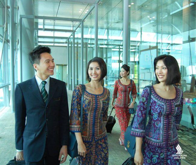 Singapur, kabin ekibi onları unutmadı