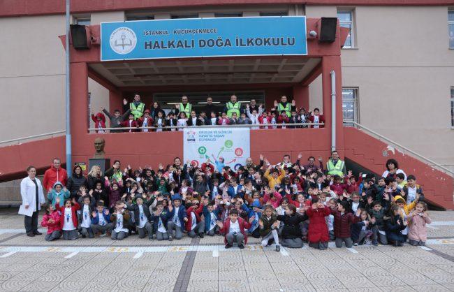 TAV'dan çocuklara acil durum ve çevre eğitimi