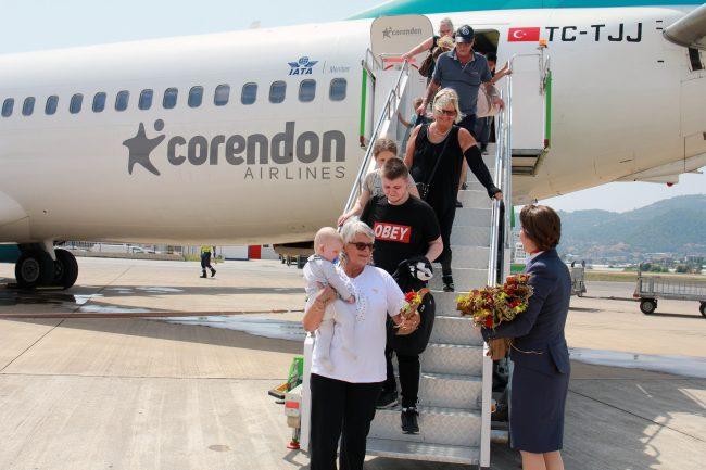 Corendon, İskandinavları Alanya-Gazipaşa'ya taşımaya başladı