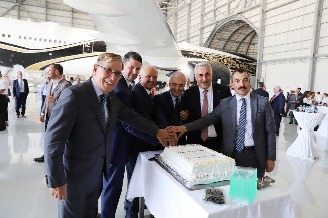 Havacılık sektörü AMAC Aerospace'in açılışında buluştu