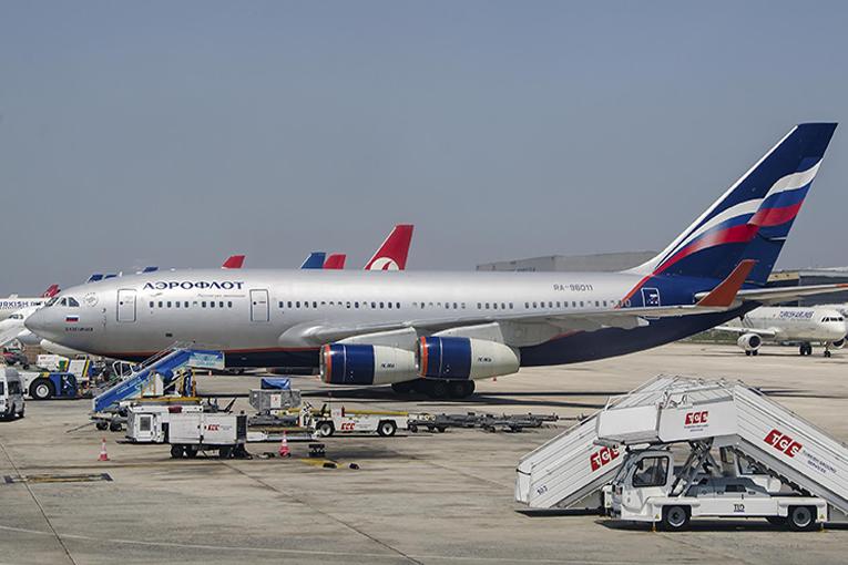 Antalya'dan 160 Rus vatandaşı, Aeroflot ile ülkesine dönde