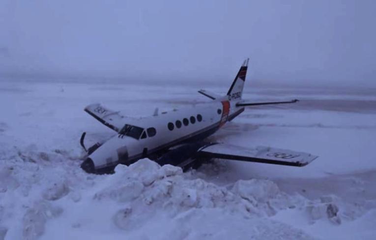 Kanada'da Beechcraft A100 pistten çıktı