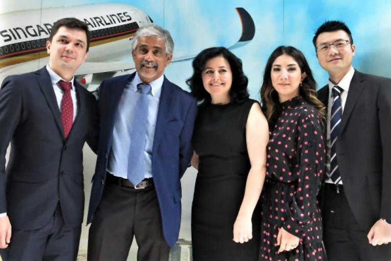 Singapur Havayolları Türkiye evden çalışıyor