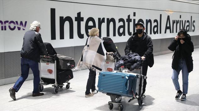 İngiltere'ye gidenlere 2 hafta karantina uygulaması