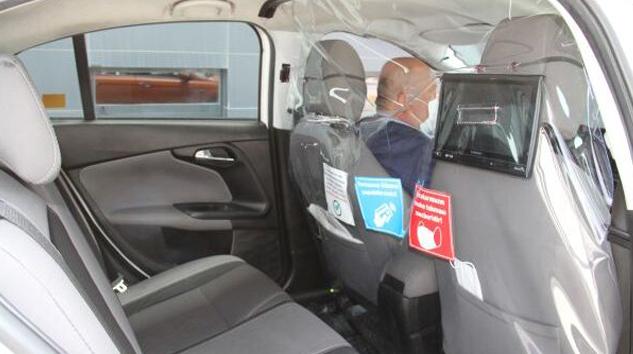 IST'te taksilere yeni önlemler getirildi