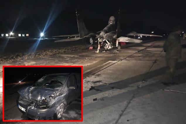 Ukrayna, Vasylkiv Hava Üssü'nde ilginç kaza