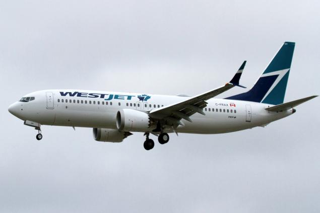 Westjet'in 15 adet Boeing 737 MAX siparişini iptaletti