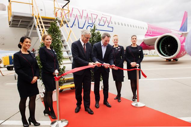 Wizz Air ilk A321neo uçağını İngiltere'deki filosuna kattı