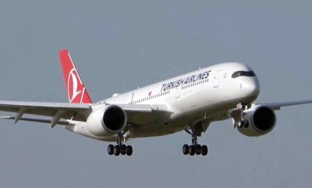 THY, beşinci A350-900'ü teslim aldı