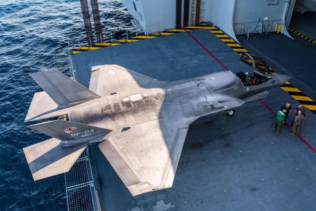 İngiltere, F-35'leri Irak ve Suriye'deki operasyonlara gönderiyor