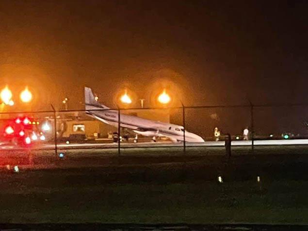 Porto Riko'da uçak pisti kapattı
