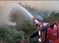İGA, Muğla'da yangın söndürme çalışmalarına destek veriyor