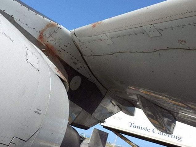 Tunus Air uçağına Cenevre inişinde kuş çarptı