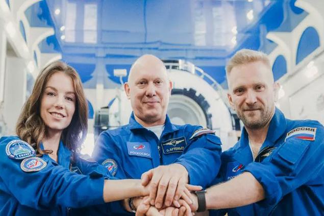 Rusya uzay filmi için düğmeye bastı
