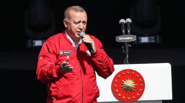 Başkan Erdoğan Teknofest'te konuştu