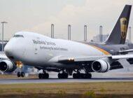 UPS'in kargo uçağı B747 havada arızalandı geri döndü