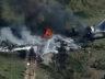 Houston'da MD-87 pistten çıktı, alev aldı
